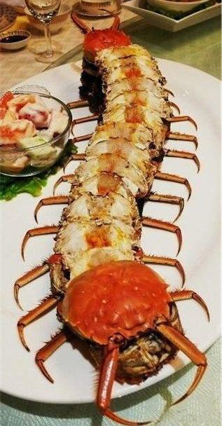 螃蟹的四个部位不吃
