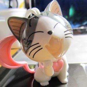 肯德基起司猫玩具,2012年新年肯德基新玩具小奇猫
