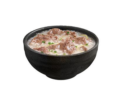 肯德基生滚牛肉粥,价格12.00元/碗