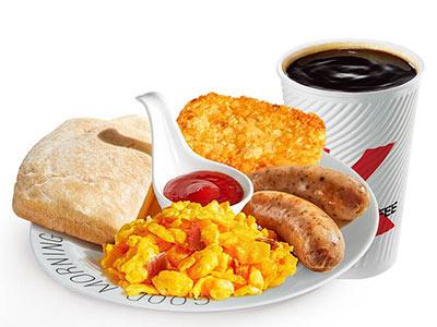 肯德基新西式早餐全餐咖啡餐,价格30.00元/份
