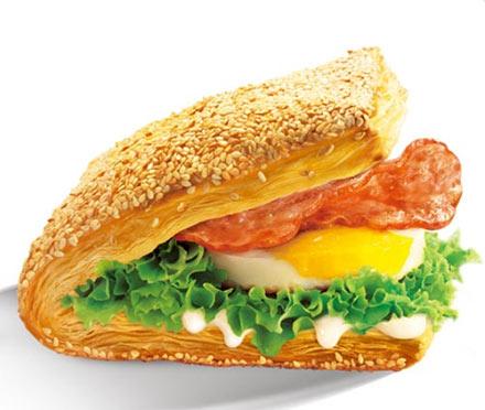肯德基培根蛋法风烧饼11.00元/份-肯德基早餐菜单价格