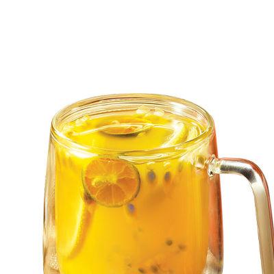 百香茉莉鲜果茶