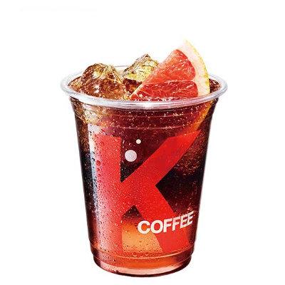 西柚气泡冰咖啡