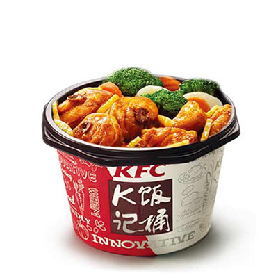 肯德基藤椒嫩笋鸡块饭,价格23.00元/份