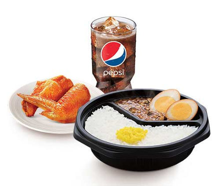 肯德基台式卤肉饭小桶套餐,价格28.00元/份