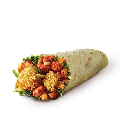 肯德基十三鲜小龙虾鸡肉卷,价格23.00元/个