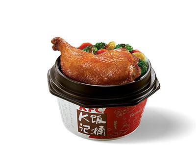 肯德基港式烧味脆皮大鸡腿饭,价格26.00元/份