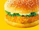 KFC菜单图片:田园脆鸡堡(Mini Burger)