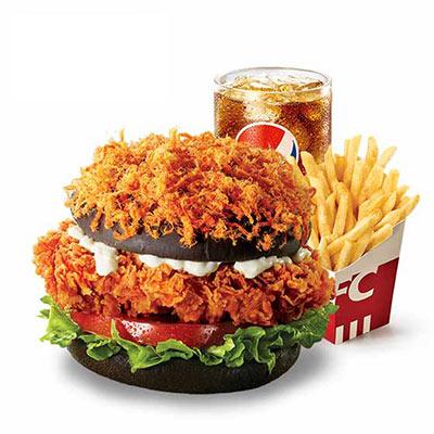 愤怒的汉堡套餐