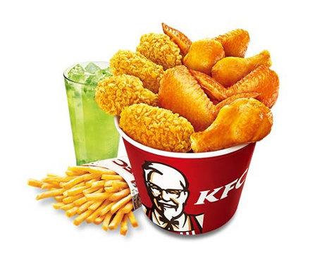肯德基翅桶套餐56.00元 份 肯德基套餐菜单价格表