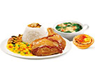 KFC菜单图片:香烤照烧鸡腿饭套餐A()