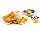 KFC菜单图片:香辣鸡柳饭套餐B()