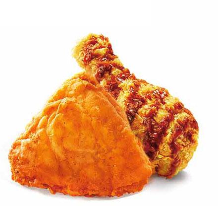 纳什维尔脆皮鸡+吮指原味鸡
