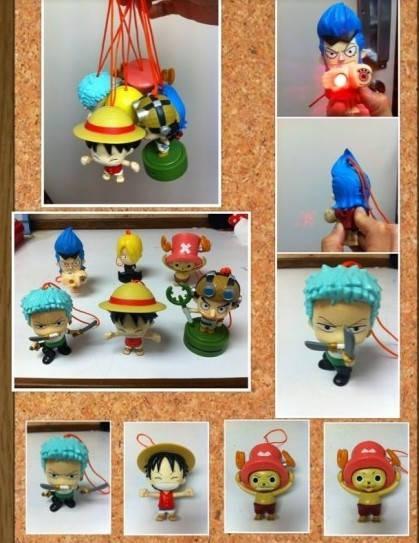 草帽小子海贼团玩具整套