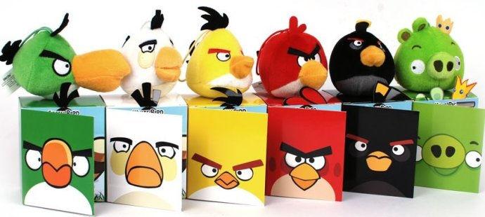 麦当劳愤怒的小鸟玩具配盒