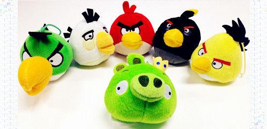 麦当劳愤怒的小鸟玩具全家福