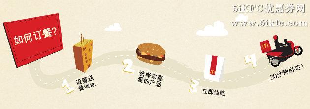 麦当劳网上订餐如何订餐