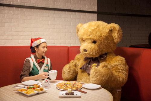 必胜客泰迪熊