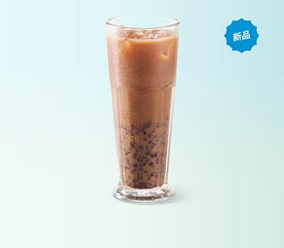 必胜客Q爆黑糯米奶茶,价格24.00元/杯