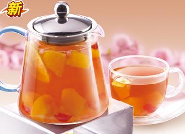 蜜桃果汇茶