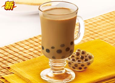 必勝客黑珍珠紅豆奶茶,價格16.00元/杯