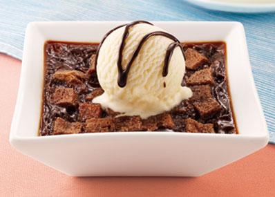 必胜客英式冰淇淋烤布丁-巧克力,价格19.00元(150g)