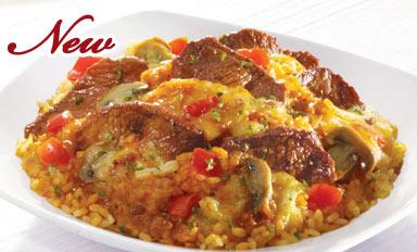 意式红烩小牛排焗饭