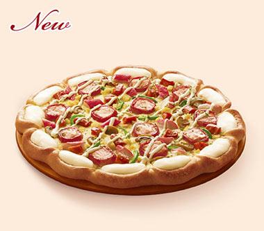 芝香培根珍鲑比萨