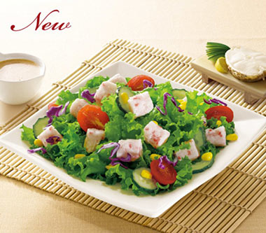 日式五彩鳕柳沙拉