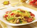 必勝客菜單價格圖片:車打芝士香腸意面(CheDaYiMian)